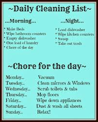 daily room cleaning checklist