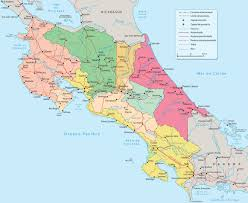 Mexico 1821 Map by Nicoya U0027s Party Anexation