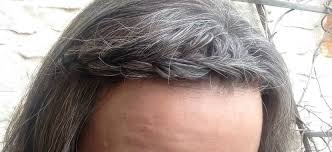 camouflaging gray hair with highlights on going gray in my thirties