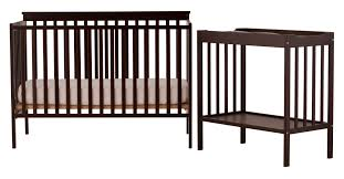 Storkcraft Portofino Convertible Crib And Changer Combo Espresso by Storkcraft Tuscany Crib Changer Combo Creative Ideas Of Baby Cribs