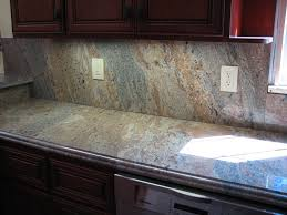 Red Kitchen Backsplash by Interior Awesome Granite Backsplash Awesome Red Kitchen Design