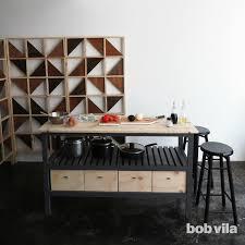 How To Build A Kitchen by How To Build A Kitchen Island Bob Vila