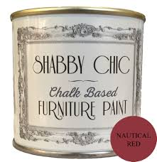 Red Shabby Chic Furniture by Nautical Red Shabby Chic Furniture Chalk Paint 125ml
