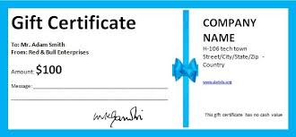 business gift certificate template business gift cards word small