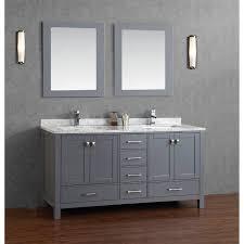grey bathroom vanity realie org