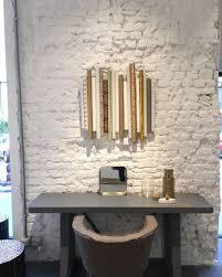 decoration de bureau du blanc du gris et de l or à la boutique gervasoni boutique and