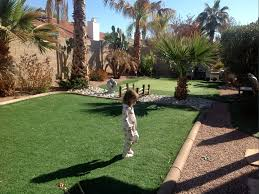 Backyard Putting Green Installation by How To Install Artificial Grass Palm Springs California Putting