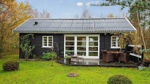 black and white danish summerhouse amazing small house youtube