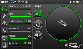 android volume volume pro of android