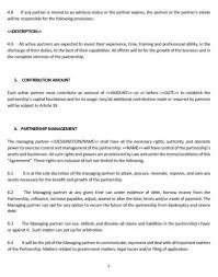 ne0208 business partnership agreement template u2013 english u2013 namozaj