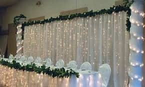 wedding backdrop with lights curtain backdrop for weddings chic wedding backdrop lights and