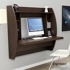 Espresso Office Desk Espresso Floating Desk With Storage This Office Desk