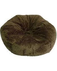 here u0027s a great price on xl fuzzy bean bag chair tan pillowfort