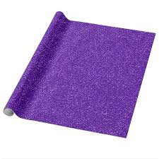 purple gift wrap purple glitter gift wrap zazzle