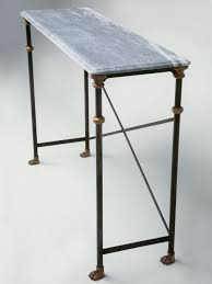 Steel Console Table Custom Steel U0026 Bronze Console Table Base For Sale Old Plank