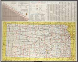 Highway Map Official 1963 64 Kansas Highway Map Kansas Memory Kansas