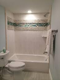 Accent Wall In Bathroom Bathrooms Design Tile Accent Wall In Bathroom Tile Accent Pieces