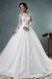 wedding dress lace sleeves 2017 sleeve lace wedding dresses skirt amelia sposa