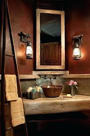 Cheap Bathroom Decorating Ideas Amazing Cabin Bathroom Decor And Log Cabin Bathrooms Master Rustic