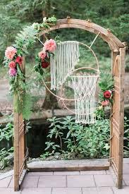 wedding arch leaves 33 boho wedding arches altars and backdrops to rock weddingomania