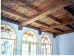 Fake Ceiling Beams by How To Create Wood Look For Drop Ceilng Ceiling Panels And Faux