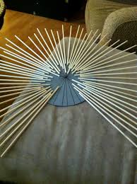 How To Make Home Decorations by Ideas U0026 Tips How To Make Starburst Mirror With Sticks And Round