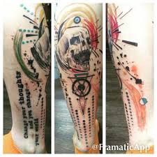 80 fashionable and wonderful leg tattoos and designs