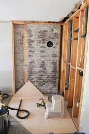 family room renovation removing brick fireplace