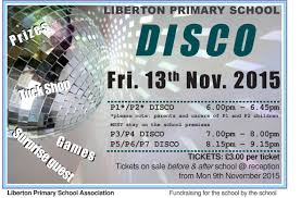 disco for sale disco tickets on sale from monday liberton primary school