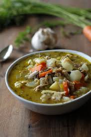 leftover turkey soup with root vegetables the roasted root