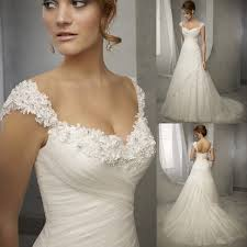 wedding dresses for women design vintage wedding dress lace cap sleeve beaded a line