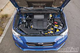 subaru boxer engine turbo 2015 subaru wrx modified magazine