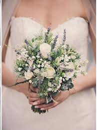 wedding flowers lavender bouquet of baby s breath with eucalyptus and lavender flower