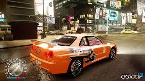 nissan skyline nfs carbon skins grand theft auto iv modification center cfgfactory
