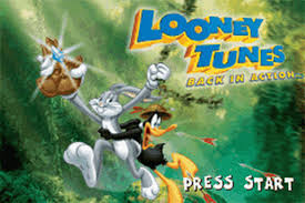 play looney tunes action nintendo game boy advance