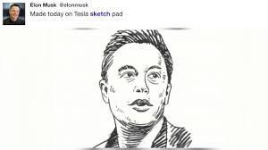 elonmusk made today on tesla sketch pad youtube