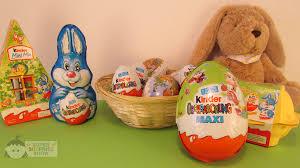 easter eggs surprises kinder eggs easter unboxing kinder kinder maxi 3s
