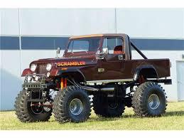 scrambler jeep for sale 1982 jeep cj8 scrambler for sale classiccars com cc 1025801