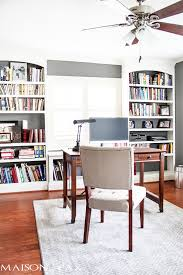 desk and bookshelves finishing the upstairs office finally maison de pax
