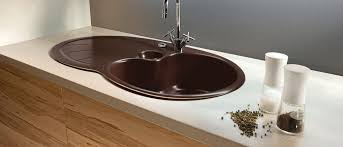 Round Kitchen Sink by Single Bowl Kitchen Sink Ceramic Round Sigma 52