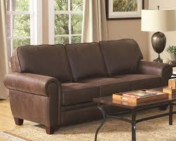 brown microfiber sofa bed brown microfiber sofa store chicago
