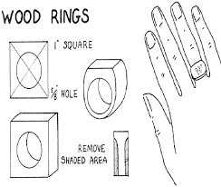 how to make wooden rings for woodworking craft for summer