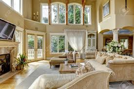 High Ceiling Living Room Designs by Living Room Interior Design Endearing Lighting Ideas For High