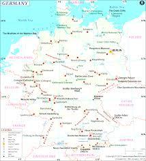 Map Of Munich Germany by Map Of Germany Beauteous Ermany Map Evenakliyat Biz
