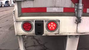 custom truck tail lights semi truck tail lights xtune smoked black led tail lights