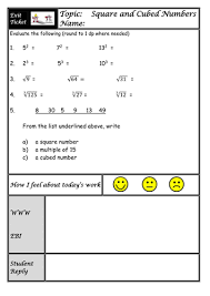 square roots and cube roots lesson visual approach with worksheets