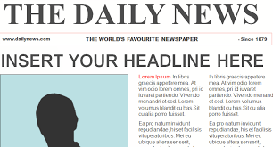 8 best images of newspaper article template printable kids