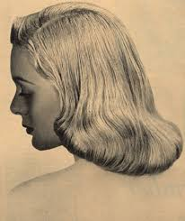 drawings of 1950 boy s hairstyles idda van munster 1950s pageboy hairstyle summer wind elegant