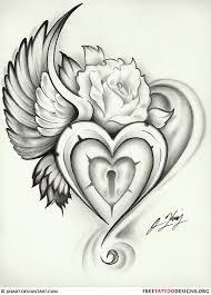 best 25 heart lock tattoo ideas on pinterest lock tattoo key