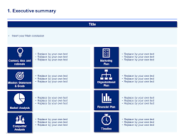 download a simple business plan template by ex mckinsey consultants